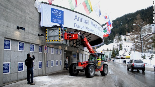 The Globe Economic Forum can be environment up inside the Swiss city involving Davos, ready to spread out for the onslaught associated with globe leaders along with energy players in January 22.