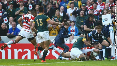 Rugby Globe Cup 2015: Japan stuns South Africa