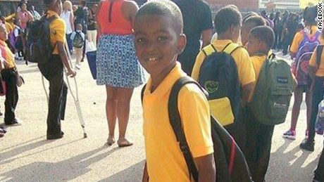 Picture associated with 9-year-old Tyshawn Lee whom died inside a shooting about 11/2/15 in Chicago.