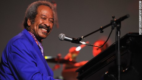 Allen Toussaint performs about stage with Bluesfest 2013 about March 31, 2013, inside Byron Bay, Australia.