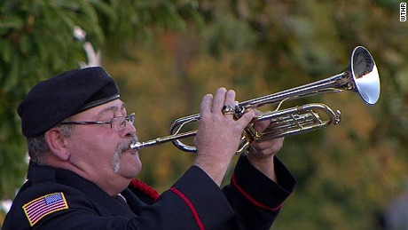 Bruce McKee honors fallen heroes along with once a week concerts within Martinsville, Indiana.